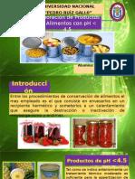 CHAVEZ PERALTA - Elaboracion de Productos de Alimentos Con PH Menor a 4.5