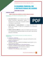PRIMER EXAMEN PARCIAL DE DISEÑO DE ESTRUCTURAS DE ACERO- TEORIA.docx