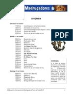 Programa XIV EIM 2015