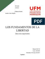 Resumen Fundamentos De La Libertad