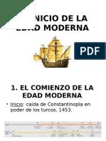Elincioinicio de la edad moderna de la edadmoderna Mentalidadculturareliginyarte 130226154754 Phpapp01