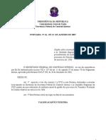 Cgu Portaria 2007 061