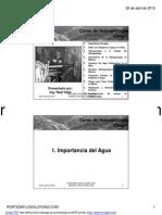 Clase 1 - Introducción e Hidrogeología en Minería