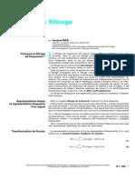 Pratique Du Filtrage; Introduction