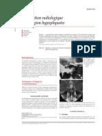 Exploration Radiologique de La Région Hypophysaire
