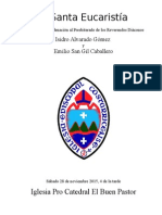Rito de Ordenación Al Presbiterado, Emilio e Isidro Version Revisada Obispo Monterroso 11 de Noviembre 2015