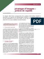 Contrer Le Piratage d'Images - Un Logiciel Précis Et Rapide