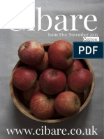 Cibare Food Magazine Issue Five