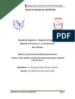 Analisis Elasto-plastico Marco Sometido a Flexion Pura