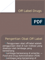 Off Label Drugs