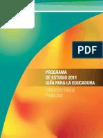 preescolar 2011