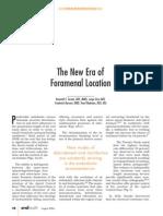 New Era of Foramen Location