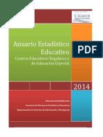 Anuario_2014 MINED Estadisticos