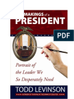 The Makings of a President EBook
