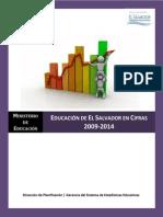 Educacion en El Salvador en Cifras 2009 a 2014_11