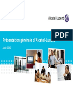 Alcatel-Lucent Overview 2010 FR