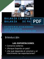 Balanza de Pagos y Balanza Comercial.importaciones y Exportaciones-macro 8a Clase