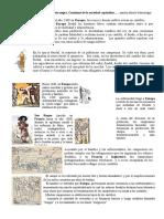 Europa Siglos XIV y XV, Peste Negra, Comienzo de La Sociedad Capitalista