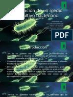 Informe 1 Preparación de Un Medio de Cultivo Bacteriano
