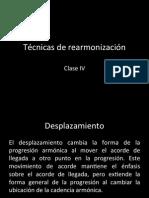 Tecnica de Rearmonizacion 4