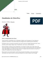 Qualidades Do Orixá Exu _ Candomblé