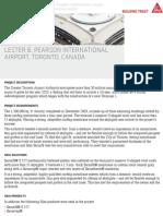 L. B. Pearson International Airport, Toronto:Canada | Sika AG
