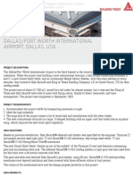 Dallas:Fort Worth International Airport, Dallas, USA | Sika AG