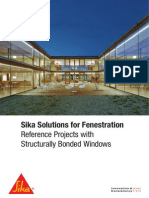 Solutions for Fenestration Structurally Bonded