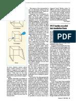 Chemical & Engineering News Volume 68 Issue 7 1990 [Doi 10.1021cen-V068n007.p025] O'SULLIVAN, DeRMOT -- PET Bottles Recycled Into Insulation Foam