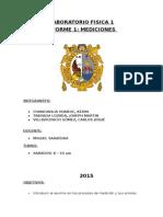 LABORATORIO FISICA 1