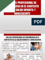 Rol Del Profesional de Enfermeria en El Contexto de La Salud Infantil y Adolescente