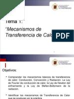 Tema 1 Mecanismos de Transferencia de Calor (1)