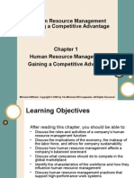 Chap001 Human Resource Management Gaining a Competitive Advantage