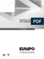 Fancoil Manual Ucs Cassette Type_ Eng