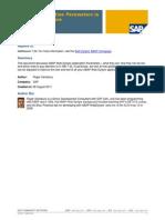 Webdynpro Setting Application Parameters