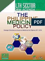 Philippine Medicines Policy 2011