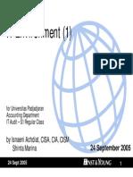UNPAD02 - IT Environment1 v1
