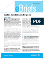 A8- E Issue Brief Water Sanitation REV