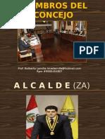 Tema 8; Miembros Del Concejo Municipal