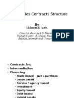 8. Islamic Sales Contracts Structure