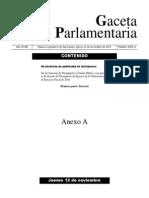 Presupuesto de Egresos de la Federación 2016 - DECRETO