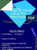 Principio de Caracter Cristiano