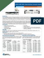 Comtech/EFData MBT-5000 5003 Data Sheet