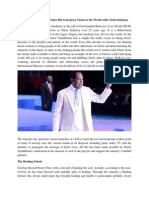 Pastor Chris Oyakhilome Takes His God Given Vision to the World with Christ Embassy