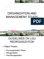Organization and Management Study