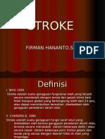 Anatomi Dan Patologi Stroke