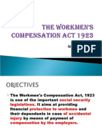The Workmens Compensation Act 1923-Phpapp 01