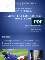 Diagnosticul Radiologic Fracturi