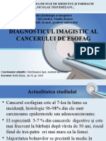 Diag Imagistic Cancer Esofag
