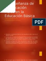 La Enseñanza de la Educación Física en la Educación Básica